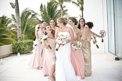 Destination Weddings: Una boda perfecta en la playa ¡Sólo para ti!