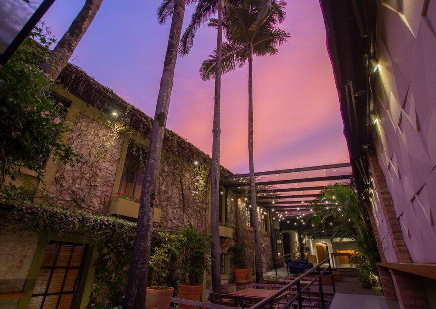 Oca Tupiniquim: uma casa de eventos inspirada na cultura brasileira, para um casamento charmoso e elegante!