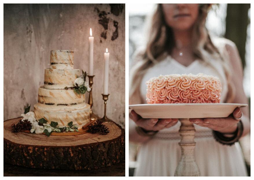 De bruidstaartentrends voor 2019 - om je vingers bij af te likken!