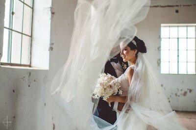 ¿Con o sin velo para tu look de novia? ¡Las lectoras responden!