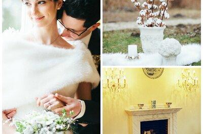 Hochzeitsinspirationen von anderen Brautpaaren: So schön lässt es sich im Winter Hochzeit feiern!