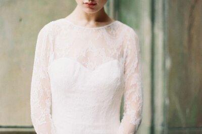 Peinado de novia 2015 ¿qué opciones con cerquillo puedo usar?