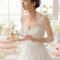 Легкая тюлевая накидка на свадебное платье