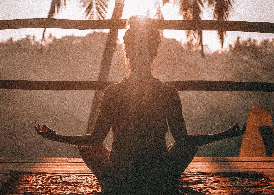 Meditação: como a pode ajudar a combater o stress da organização do casamento