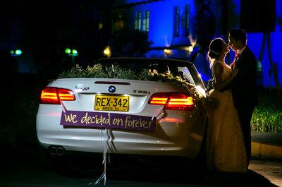 ¿Quieres llegar a tu boda de una forma única y original? ¡Sigue estos consejos de acuerdo con tu estilo!