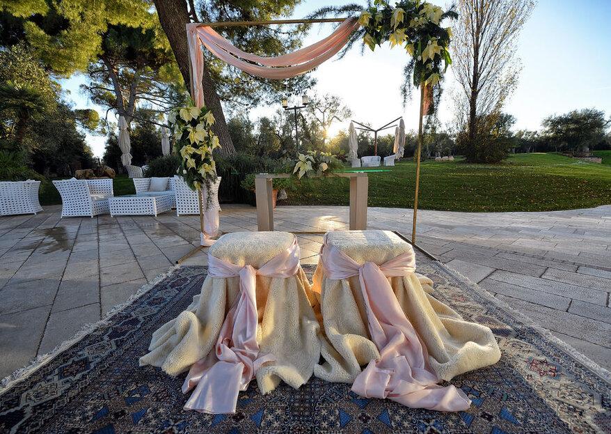 Inebria i 5 sensi con un matrimonio a Villa Ciccorosella
