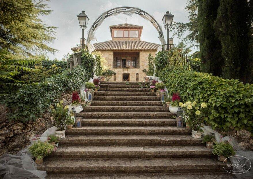 Torreón de Don Jacinto: la boda de tus sueños al norte de Madrid