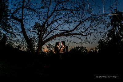 Nathali e Tiago: casamento rústico com estilo americano no interior de São Paulo