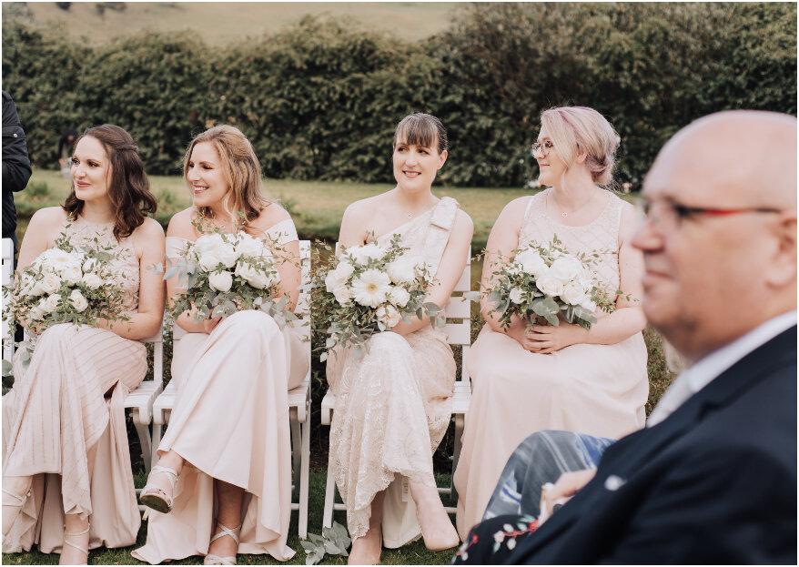 ¿Cuál es el papel de las damas y los caballeros de honor en una boda?