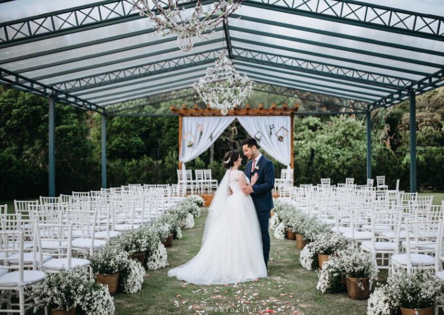 FazendaDonaInês: a concretização do sonho de casar em umafazendaincrível, um espaço rústico, chique e encantador!