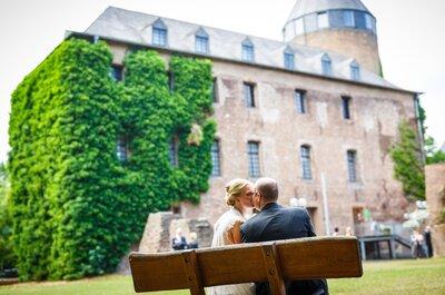 Die Märchenhochzeit von Tina & Thomas auf Schloss Hugenpoet: Eine königliche Reportage!