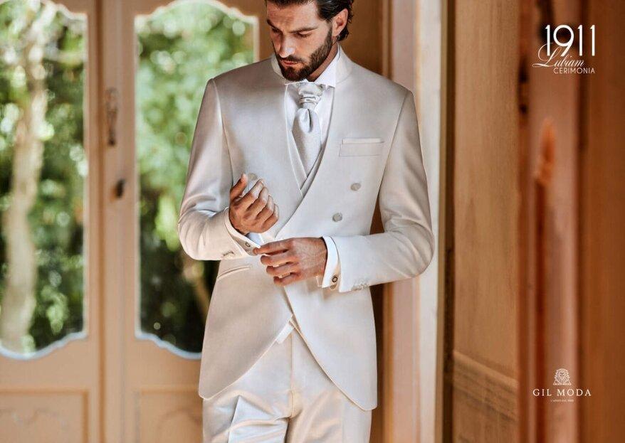 Gilmoda: completa lo stile sposo con eleganza