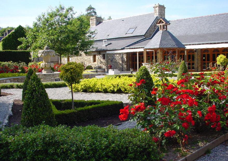 Domaine du Moulin de Saint-Yves : un lieu de réception au charme fou dans le paysage breton