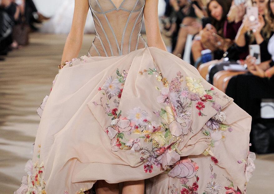 Los looks más increíbles de la New York Bridal Fashion Week 2018