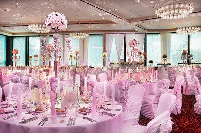 Einzigartig und voller Genuss: So sehen Hochzeiten im Zürich Marriott Hotel aus!
