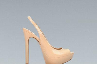 Sapatos de noiva baratos: os nossos preferidos da colecção Outono da Zara