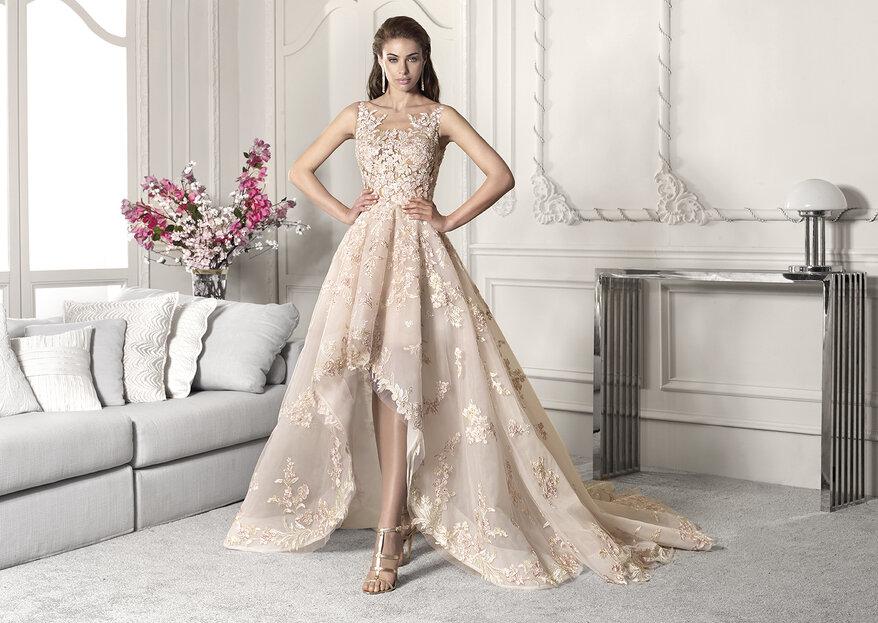 Bei der Hochzeit im Brautkleid strahlen –Mit Modellen von dem Top-Label Demetrios