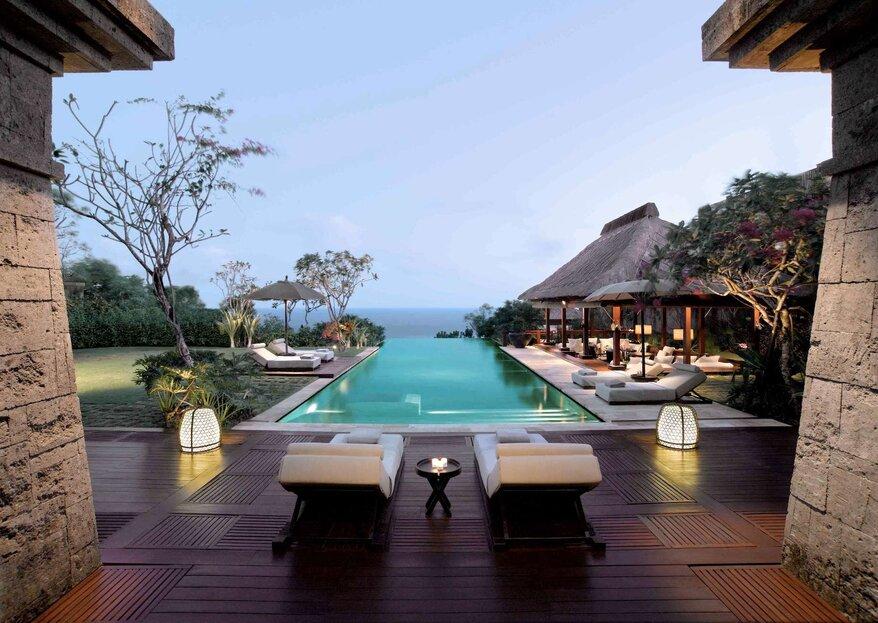 ¿Luna de miel? Conoce los 8 mejores hoteles alrededor del mundo