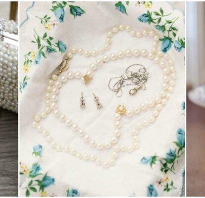 813feb991624 Joyas para novia con perlas. ¡Fuera los malos augurios!