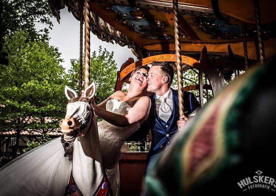 Tips voor de meest spontane trouwfoto's!