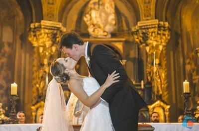 Casamento clássico de Carolina e Renato: máximo romantismo no coração de São Paulo!
