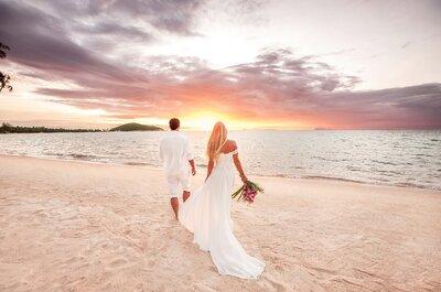Die besten Brautfrisuren für eine Strandhochzeit! Keep it simple