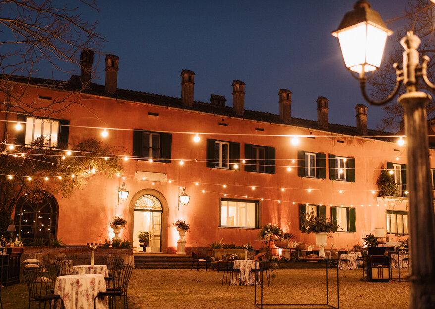 Villa Senni, un angolo di paradiso affacciato su Roma dove celebrare le vostre nozze esclusive!