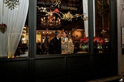 Winterliche Hochzeit am Lago di Lugano - So romantisch heirateten Giulia & Massimo aus dem Tessin!