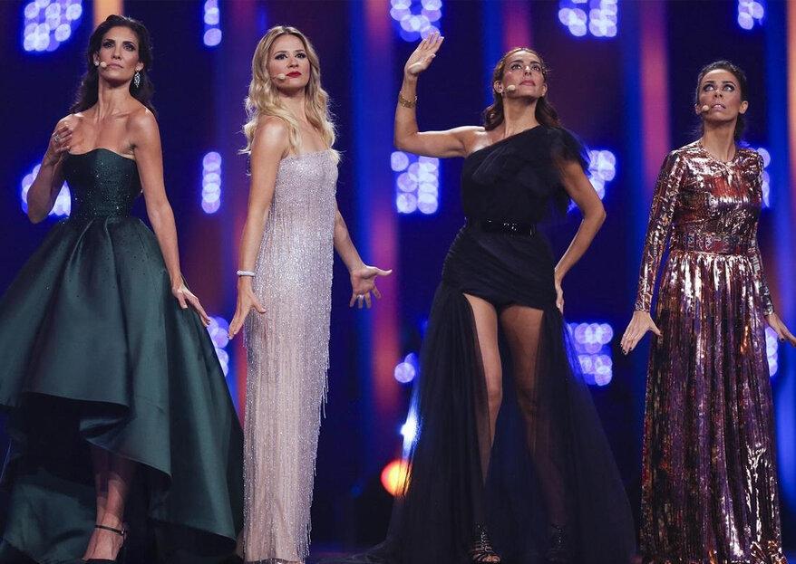 Eurovisão 2018: os looks da final. Portugal não venceu, mas as apresentadoras sim!