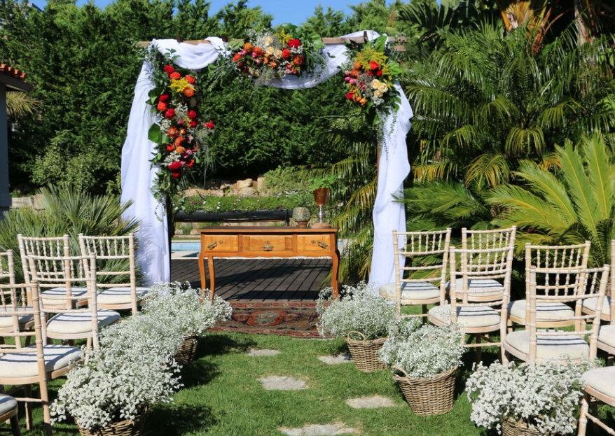 Casar tranquila: 4 ideias para um casamento Zen