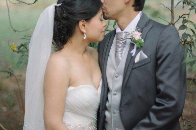 Sonia y Germán: una boda de muchos globos inflados con amor