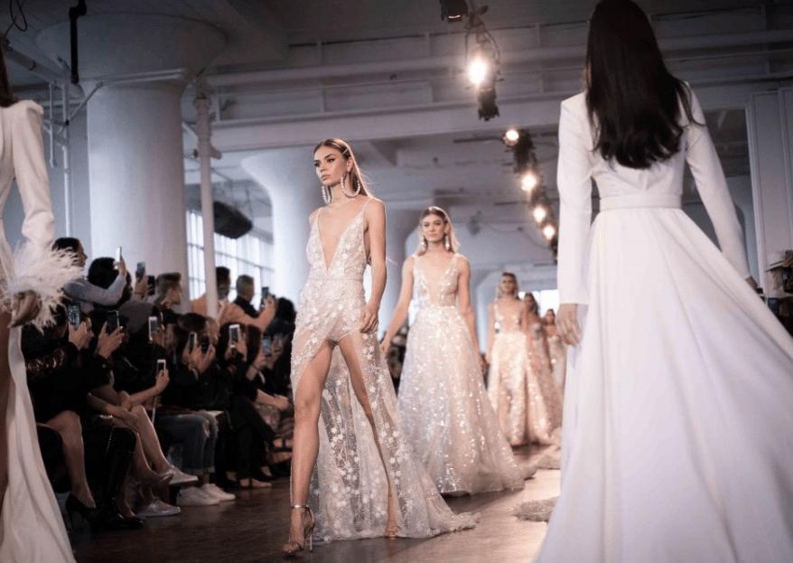 New York Bridal Fashion Week 2019: 5 bruiloftstrends die je nu wilt hebben!