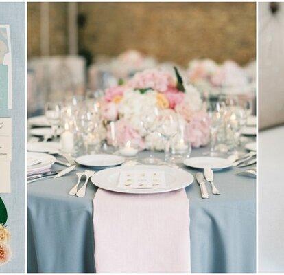 Tema Matrimonio Rosa Quarzo : Azzurro serenity e rosa quarzo: i colori del 2016 per decorare le