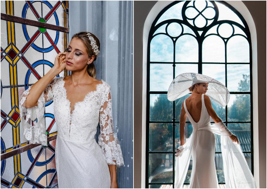 White, light pearls bridal fashion shoot - Klasse en elegantie ten top!