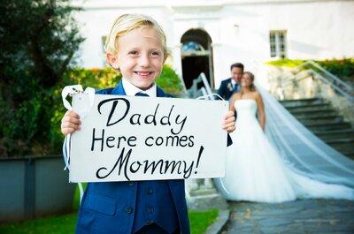 Hochzeitsfotografen in Österreich und ihre schönsten Fotos von Kindern bei der Hochzeit