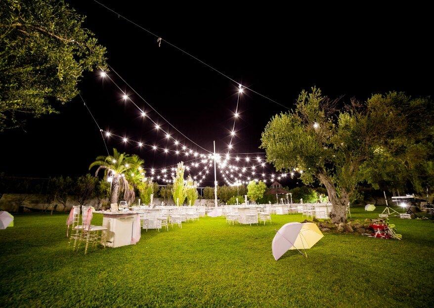 Il Giardino dei Pavoni: la splendida oasi verde abitata da volatili dai mille colori per le vostre nozze