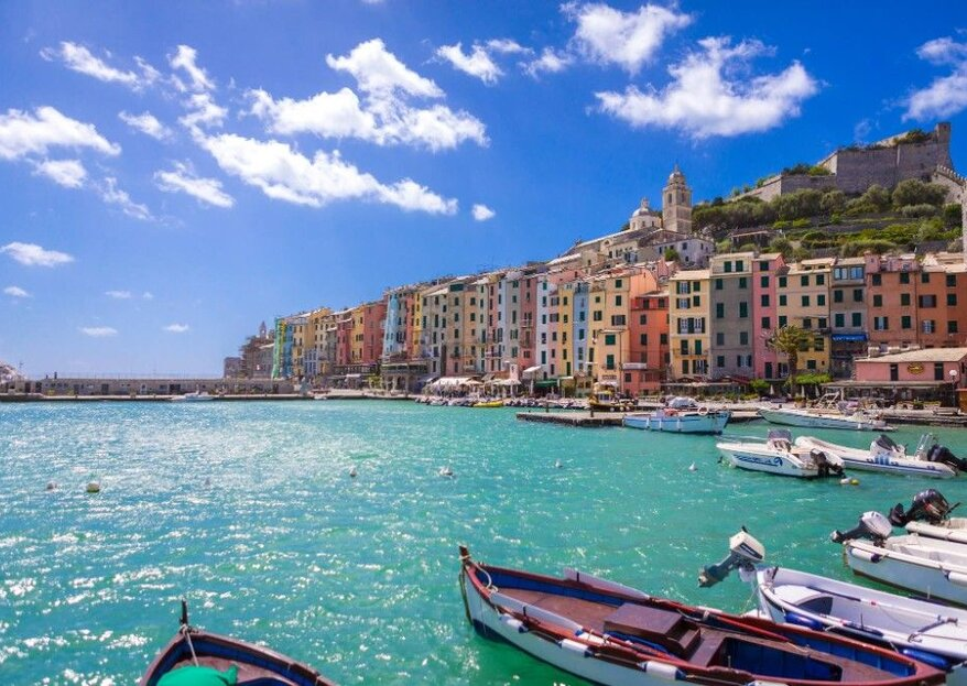 Grand Hotel Portovenere, an enchanting wedding location that overlooks the sea