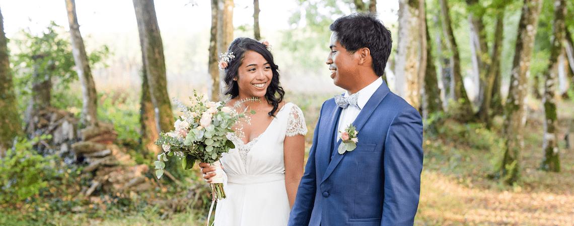 Kiara et Johary : un mariage rustique chic au Domaine de la Châsse