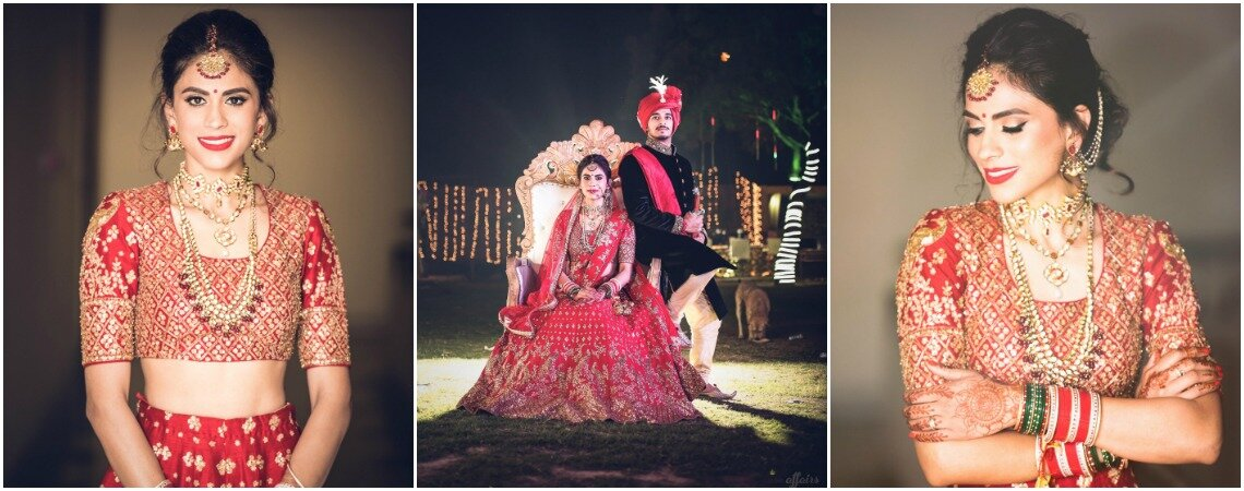 Magical Moments of Jyotpriya and Nishant´s Wedding in Faridabad