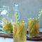 Agua de pera y jengibre.
