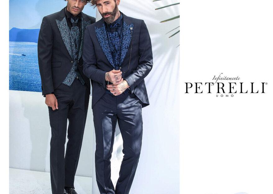 Petrelli Uomo veste lo sposo più esclusivo con eleganza ed innovazione...