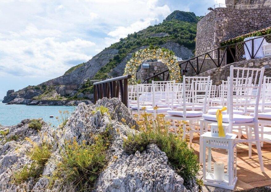 The legend of a dream wedding in Torre La Cerniola