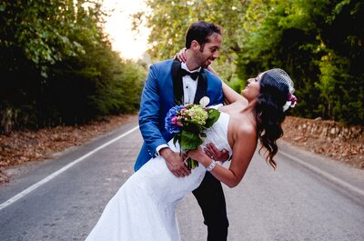 Pamela y Francisco, una boda con color, estilo...y ¡mucho amor!