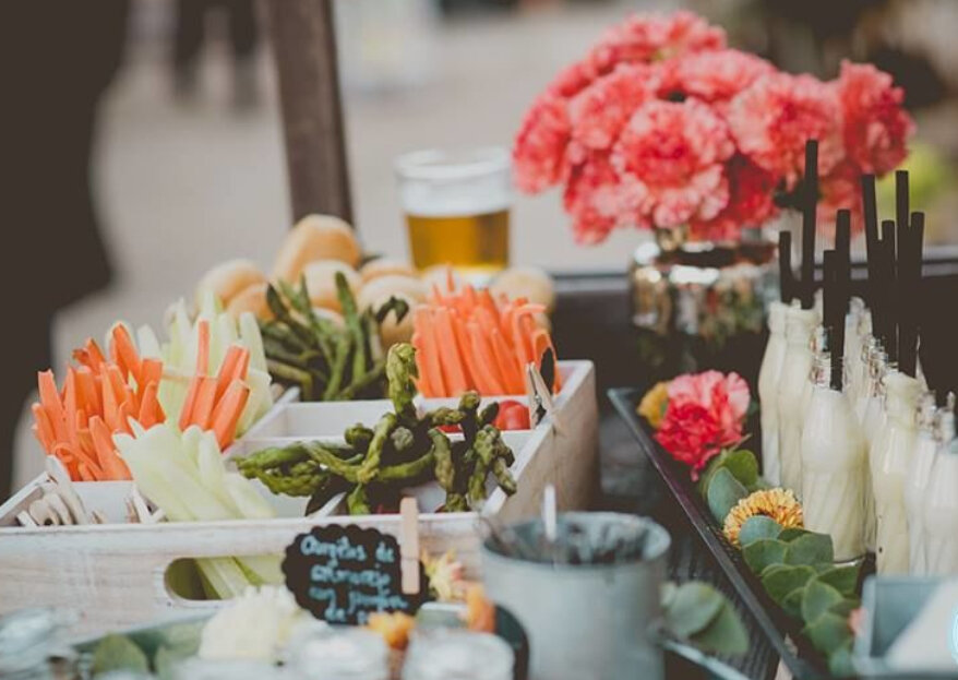Foodtrucks o puestos de comida: apuesta por un catering de bodas original