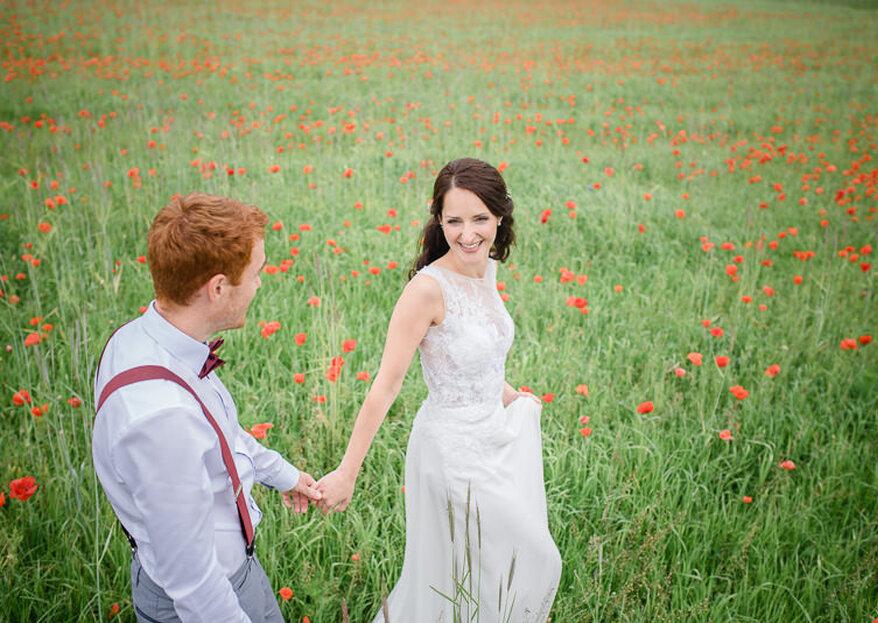 Ein Stück vom Glück bei der Berliner Hochzeit – Stephanie & Oliver heirateten im kleinen Kreis