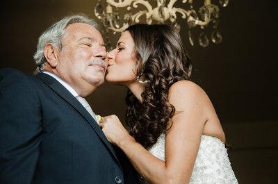 4 cose da delegare al padre della sposa