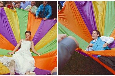 Hochzeitsspiele für das Brautpaar