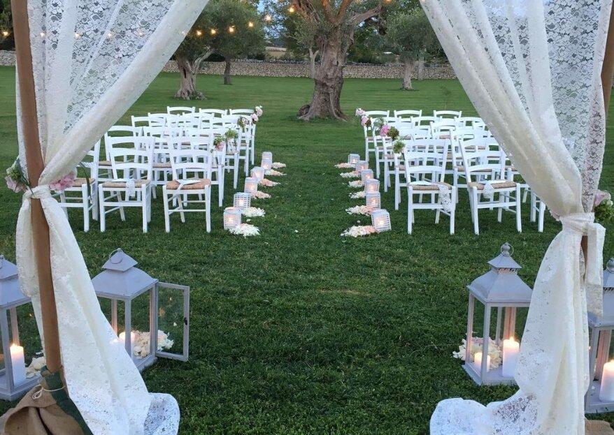 Grand Hotel La Chiusa di Chietri, per un romantico matrimonio all'insegna dell'autentica tradizione pugliese