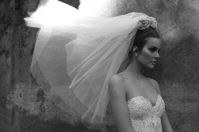 Os impecáveis vestidos de noiva de Inbal Dror