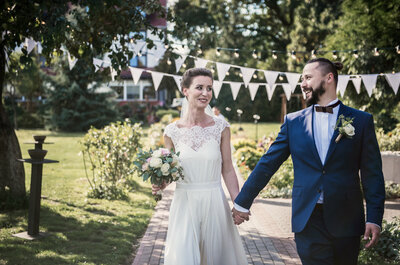 Drewniany pierścionek zaręczynowy, cudowne emocje i piękny ślub!